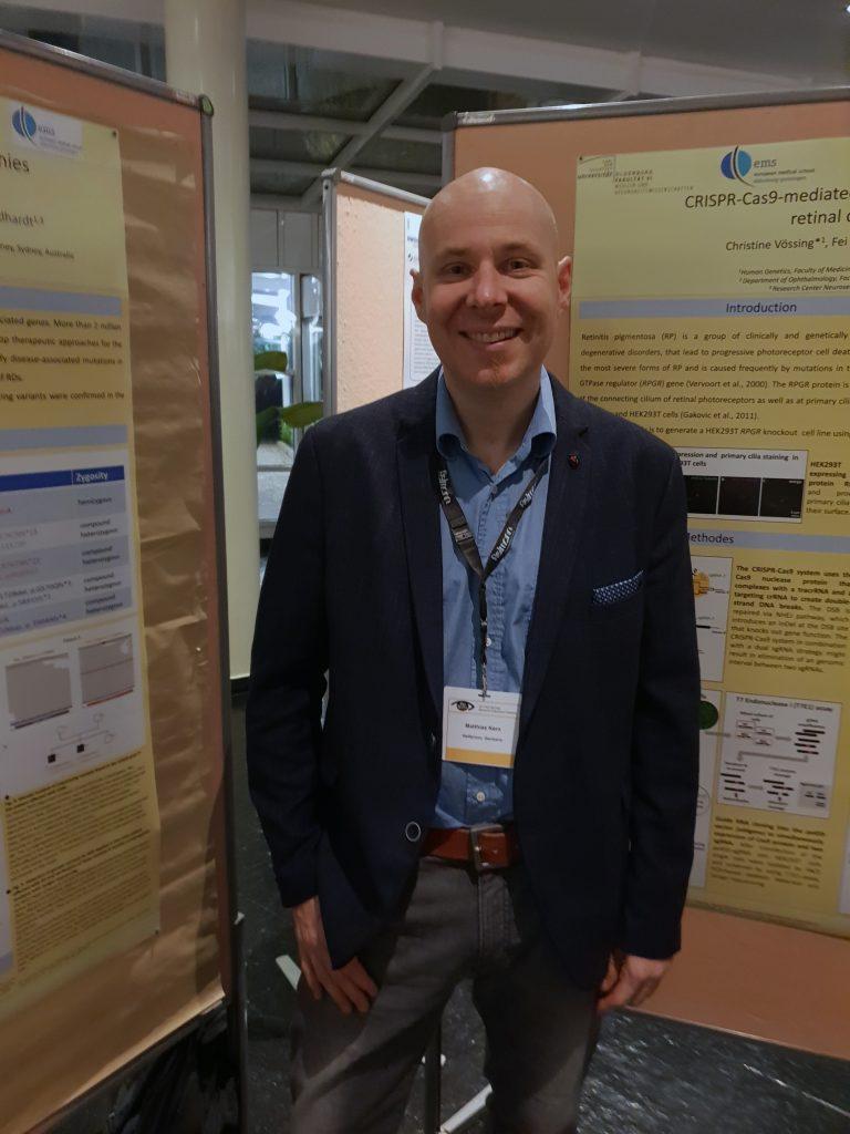 Teilnahme an Potsdam-Meeting,Pro Retina Stiftung 2018